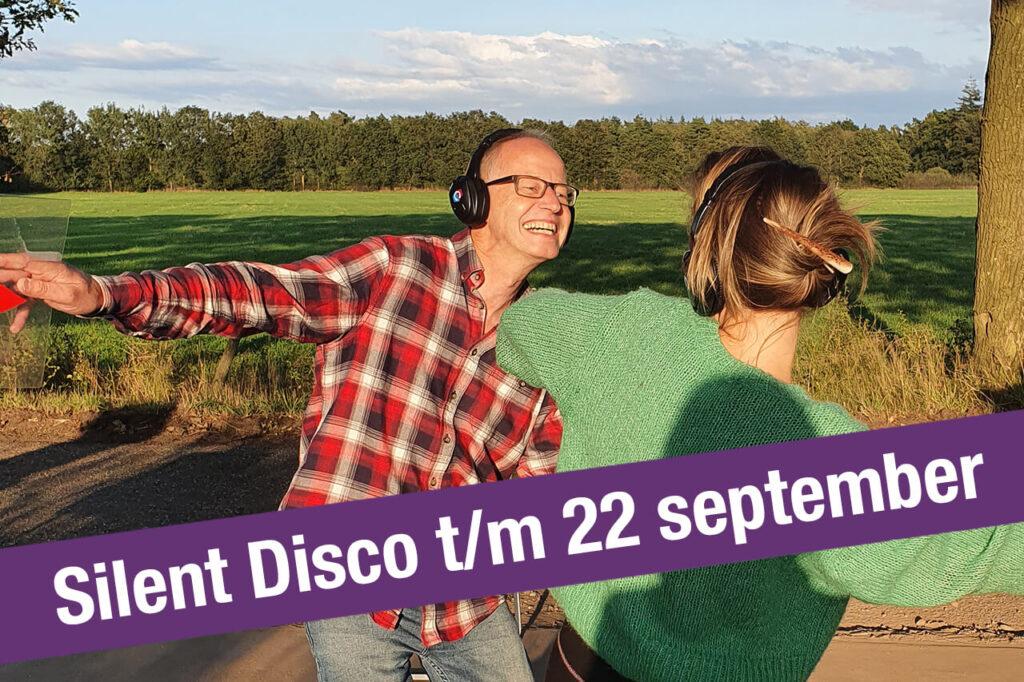 Silent Disco t/m 22 september in de natuur